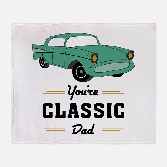 Classic Dad Throw Blanket