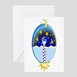 Artic Pole Greeting Card