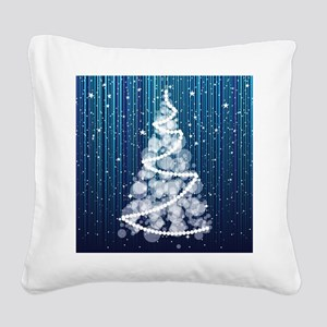 SPARKLING TREE Square Canvas Pillow