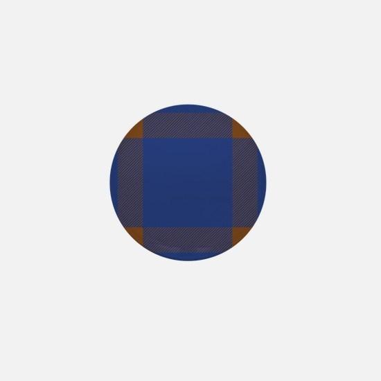 Elliot Scottish Tartan Mini Button