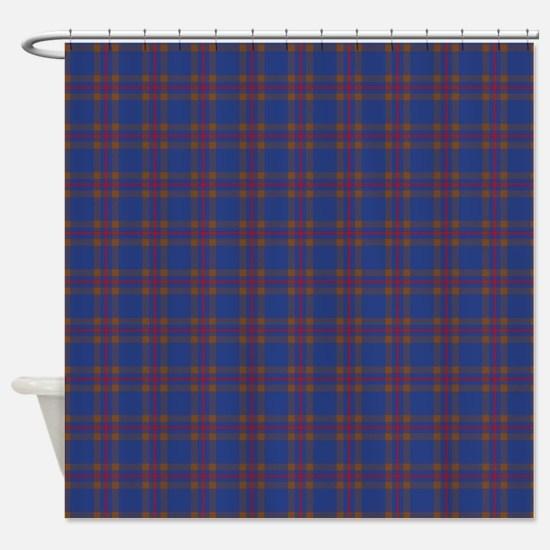 Elliot Scottish Tartan Shower Curtain