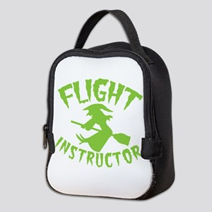Flight instructor wickedy witch Neoprene Lunch Bag