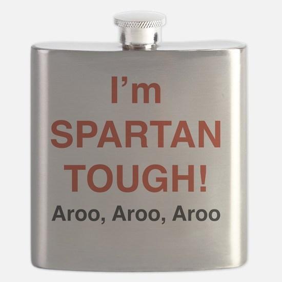 Cute Spartan Flask