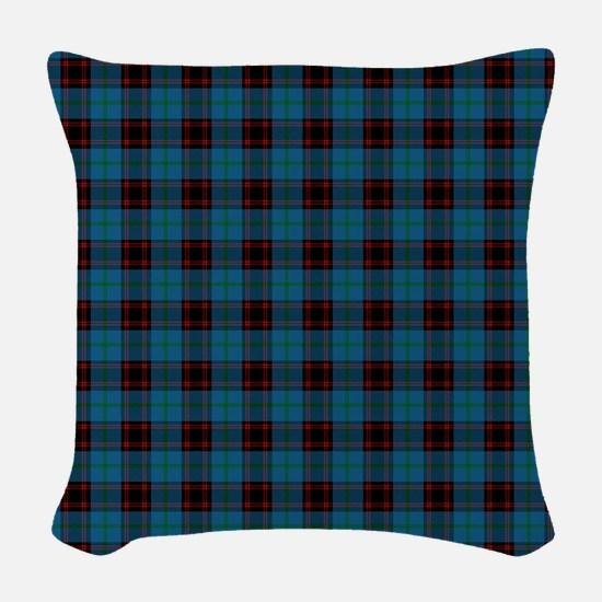 Home Scottish Tartan Woven Throw Pillow
