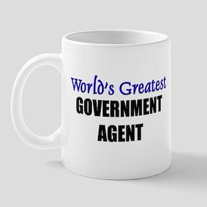 Worlds Greatest GOVERNMENT AGENT Mug
