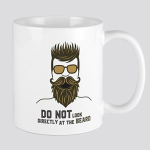 Do not look directly at the beard. Mugs