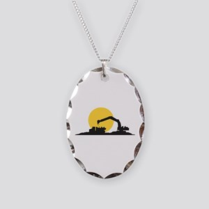 Construction Site Necklace
