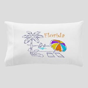 Florida Beach Pillow Case