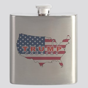 Trump Country Flask
