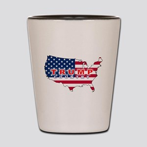 Trump Country Shot Glass