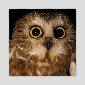 Northern Saw-whet owl Queen Duvet
