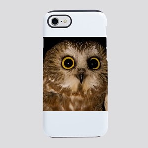 Northern Saw-whet owl iPhone 8/7 Tough Case