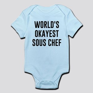 World's Okayest Sous Chef Body Suit