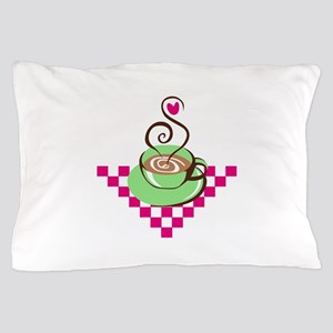 Coffee Cup Pillow Case