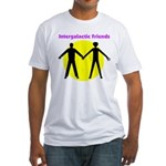 Intergalactic Friends - Fitted T-Shirt