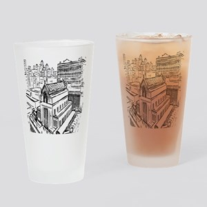 Chicago Union Station Drinking Glass