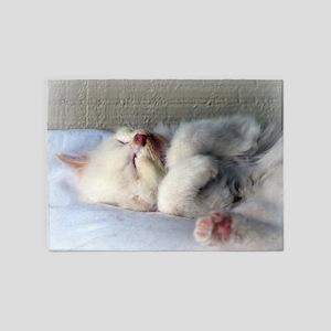 Sleepy Kitten 5'x7'Area Rug
