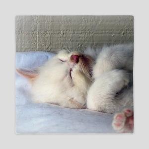 Sleepy Kitten Queen Duvet