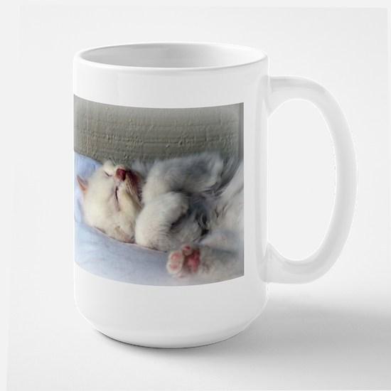 Sleepy Kitten Mugs