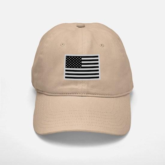 Subdued US Flag Tactical Cap