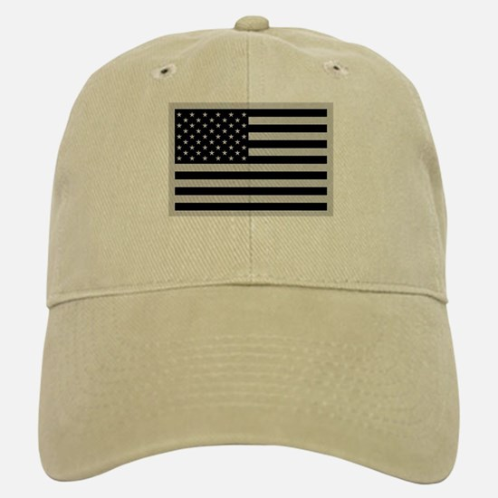 Subdued US Flag Tactical Hat