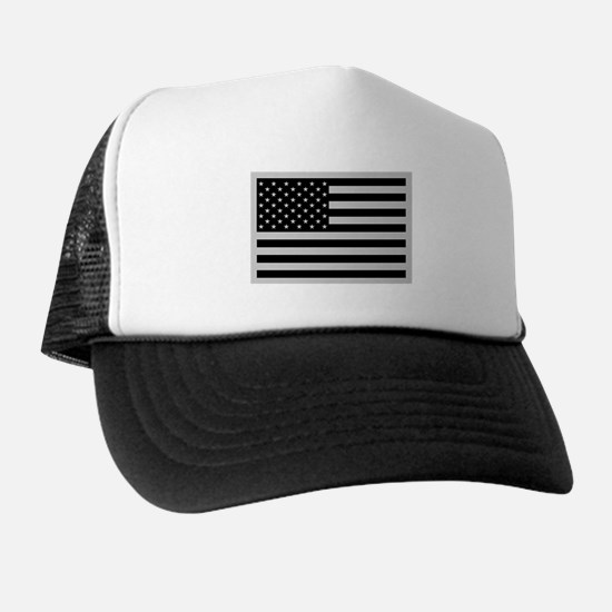 Subdued US Flag Tactical Trucker Hat