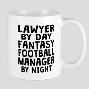 Lawyer Fantasy Football Manager Mugs