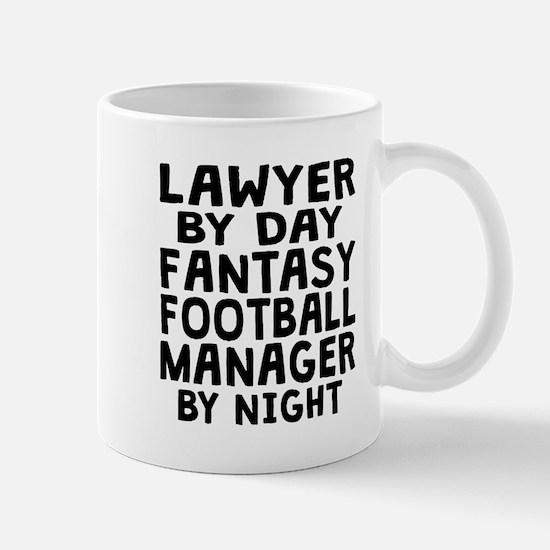 Lawyer Fantasy Football Manager Mugs