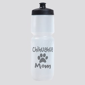 Chihuahua Mom Sports Bottle