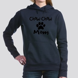 Chow Chow Mom. Women's Hooded Sweatshirt