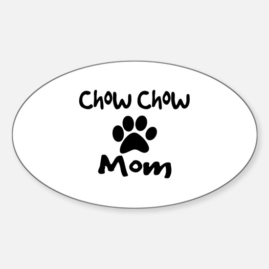 Chow Chow Mom. Decal