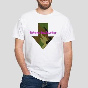 Mama-to-be White T-Shirt