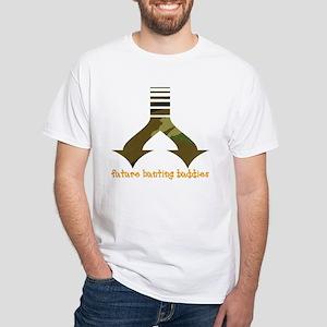 Future hunting buddies - Twin White T-Shirt
