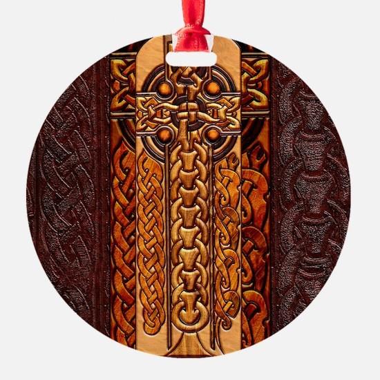 Harvest Moons Viking Cross Ornament