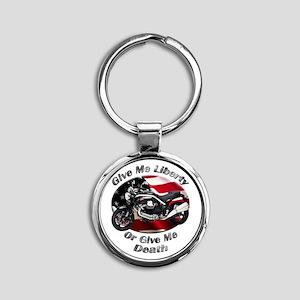 Moto Guzzi Griso 8V Round Keychain