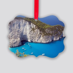 Zakynthos Island Picture Ornament