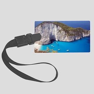 Zakynthos Island Large Luggage Tag