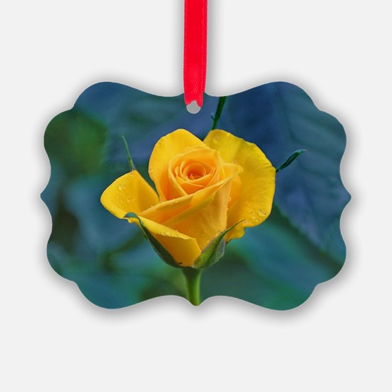 Yellow Roses Ornament