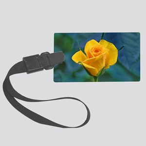Yellow Roses Large Luggage Tag