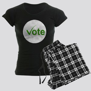 Vote for Green! Women's Dark Pajamas