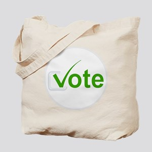Vote for Green! Tote Bag