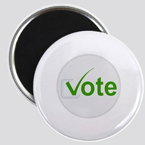 Vote for Green! Magnet