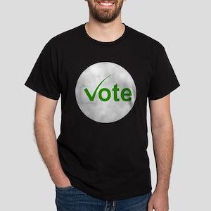 Vote for Green! Dark T-Shirt