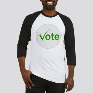 Vote for Green! Baseball Jersey