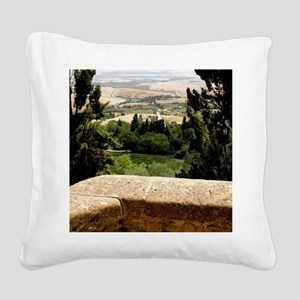 Tuscany Square Canvas Pillow
