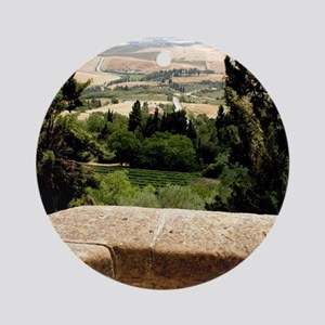 Tuscany Round Ornament