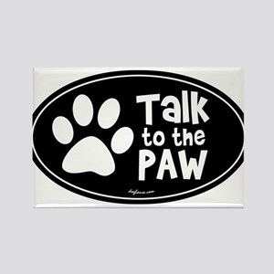 Talk To The Paw Magnets