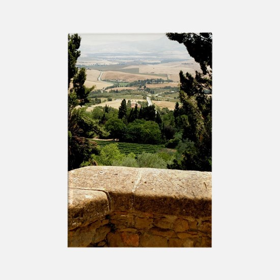 Tuscany Rectangle Magnet