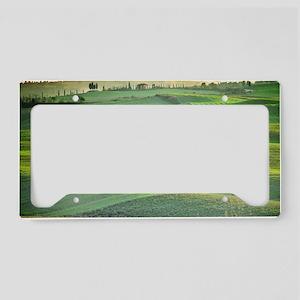 Tuscany License Plate Holder