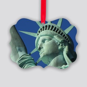 The Statue of Liberty Picture Ornament